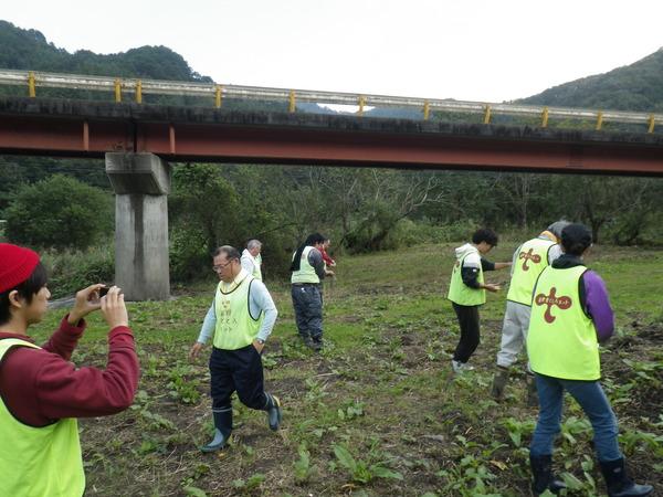 河川緑化活動